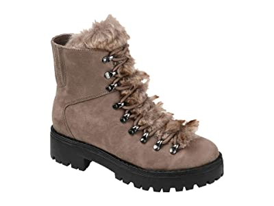 Journee Collection Comfort Foam Trail Boot (Taupe) Women