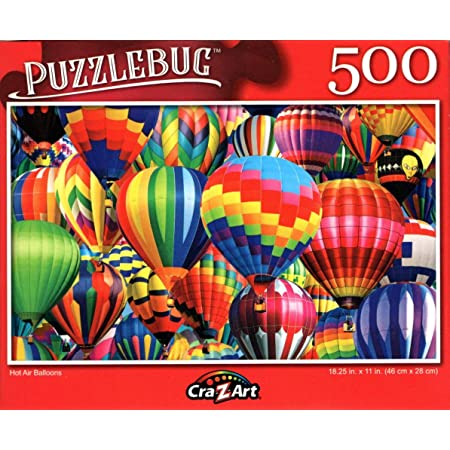 Adults Kids Puzzle Game Toys Gift,Artwork Art Puzzle Toy Educational Gift Home Decoration,Each Piece of Puzzle is Unique and Thickened Josiah balloon-500 Pieces of Puzzles