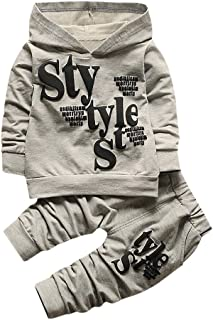 Pantaloni Set Caldo Manica Lunga Leggera Antivento Mbby Tuta Bambina 0-4 Anni Completino Bambino Ragazzi 2 Pezzi Tute Maglietta