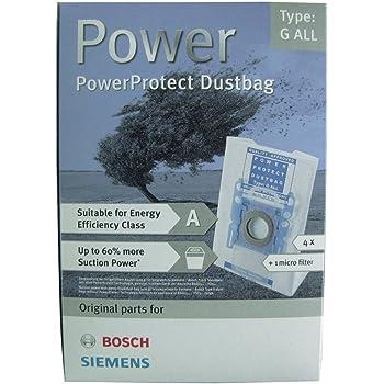 Bosch 576863 - Accesorio para aspiradora (4 pieza(s)): Amazon.es: Hogar