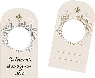 156 etichette per bottiglie di vino in cartoncino per organizzare la tua cantina