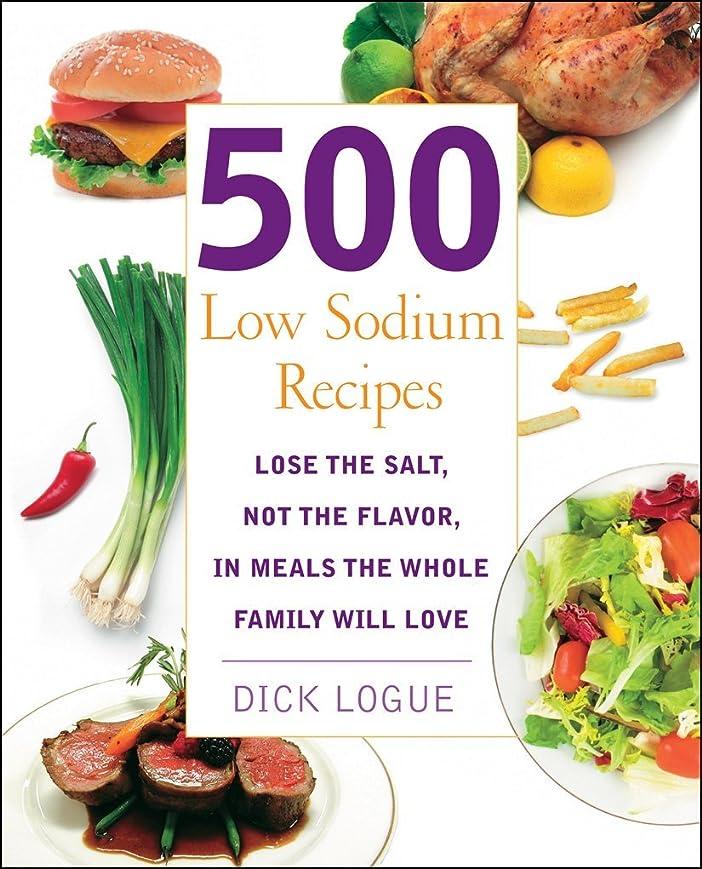 500 Low Sodium Recipes (English Edition)