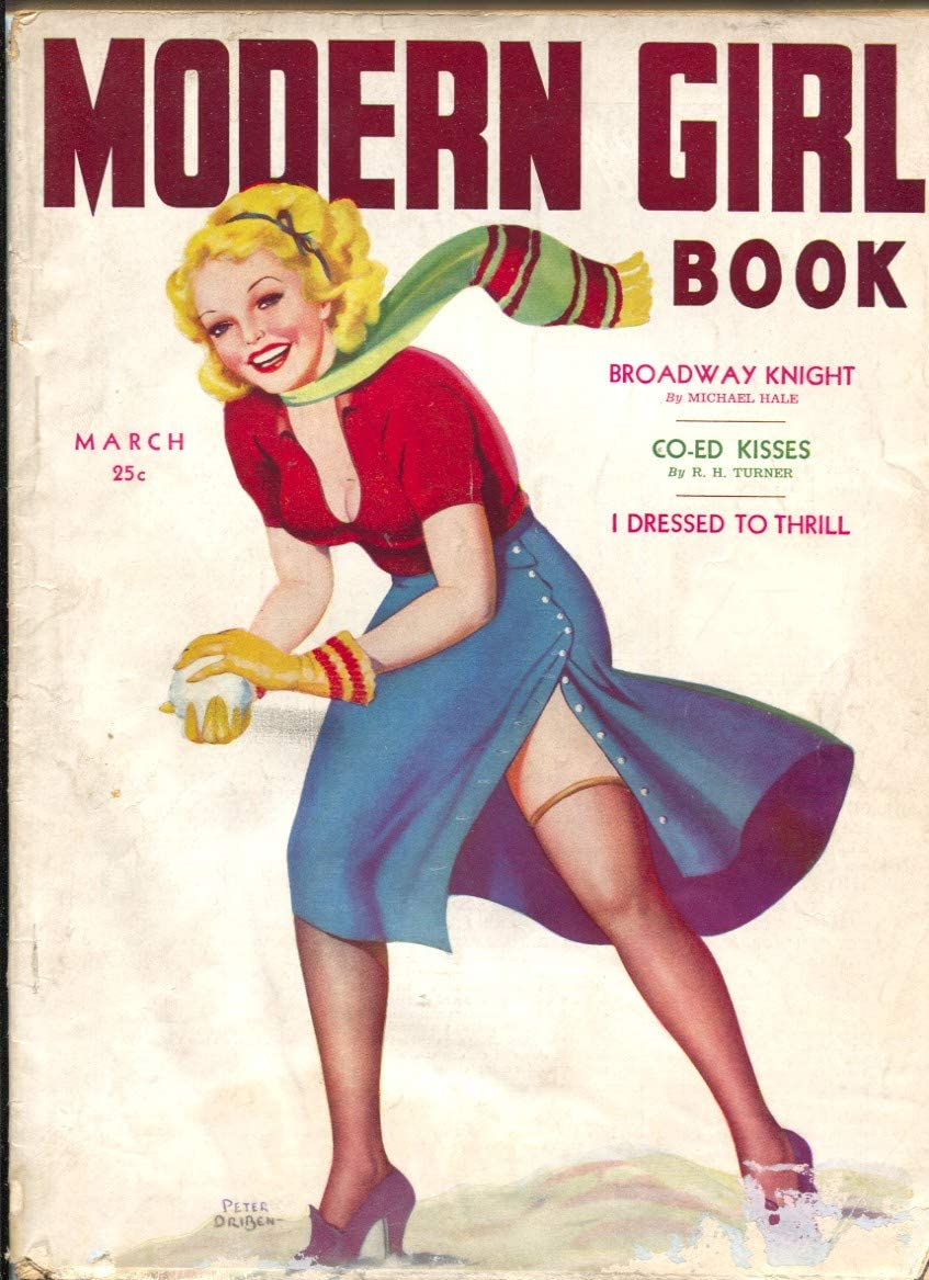 Modern Max 40% OFF famous Girl Book #1 3 Driben pix-Peter issue-spicy 1939-1st girl