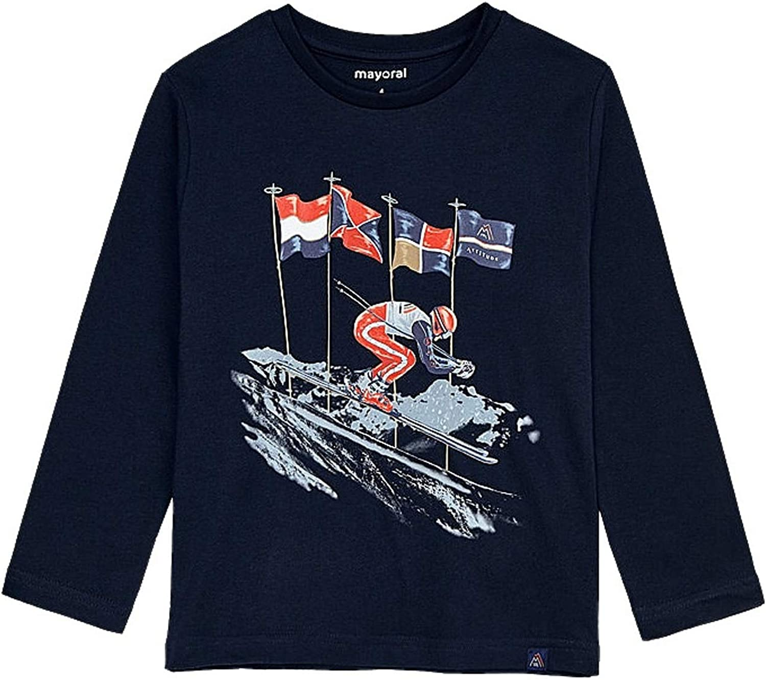 Mayoral - L/s t-Shirt for Boys - 4037, Navy