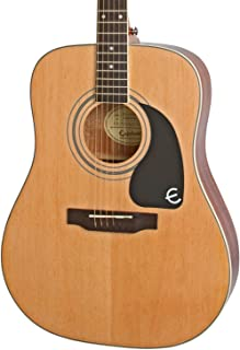 Epiphone Pro-1 Plus EAPPNACH1-15 Acoustic Guitar, for Beginners, Natural Finish