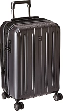 Delsey Helium Titanium Expandable Carry-On Spinner Trolley