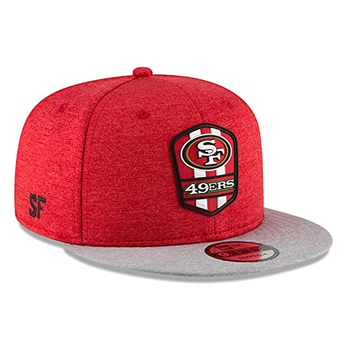 c74b542c New Era San Francisco 49ers 2018 NFL Sideline Road Official 9FIFTY Snapback  Hat