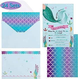 Best the little mermaid wedding invitations Reviews