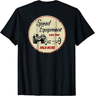 Retro Speed Equipment T-Shirt. A Blast from the Past!