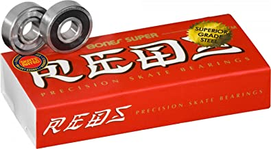 Bones Super Reds Bearings 8mm 16 Pack