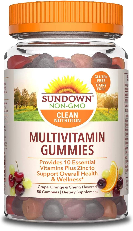 Sundown Adult Multivitamin with Zinc Vitamins E D Max 59% Sale Special Price OFF A C Sup