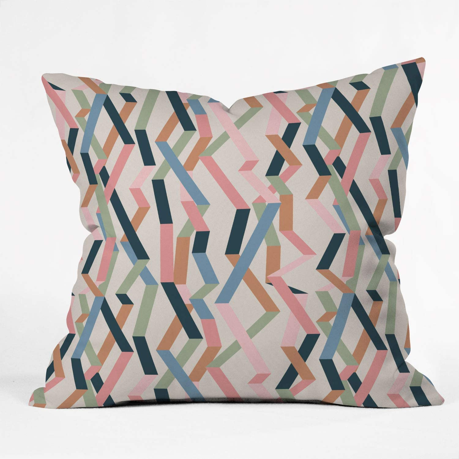 Deny Designs Mareike Boehmer Cheap mail order sales Straight P 55% OFF Geometry Ribbons 1 Throw