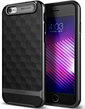 TOBOS Parallax for Apple iPhone 6S Case (2015) / for iPhone 6 Case (2014) - Black/Black