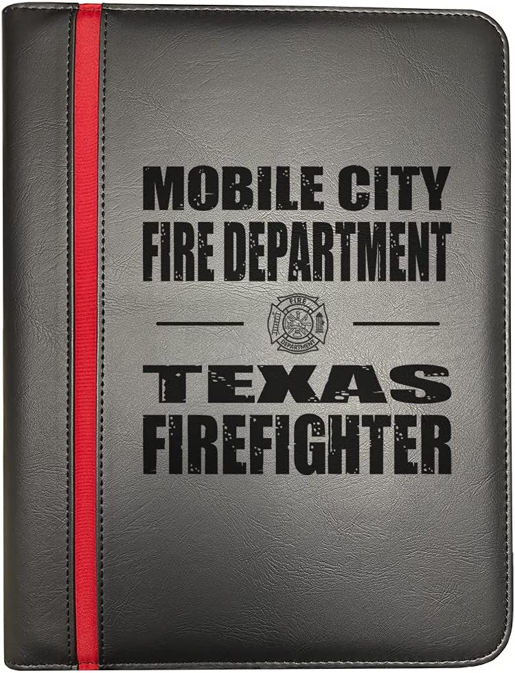 Mobile City Texas Fire Departments Cheap mail order sales Line Department store Red Firefighter Fir Thin