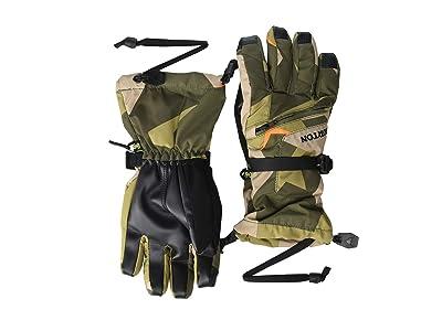 Burton Kids Vent Gloves (Little Kids/Big Kids) (Three Crowns Camo) Extreme Cold Weather Gloves