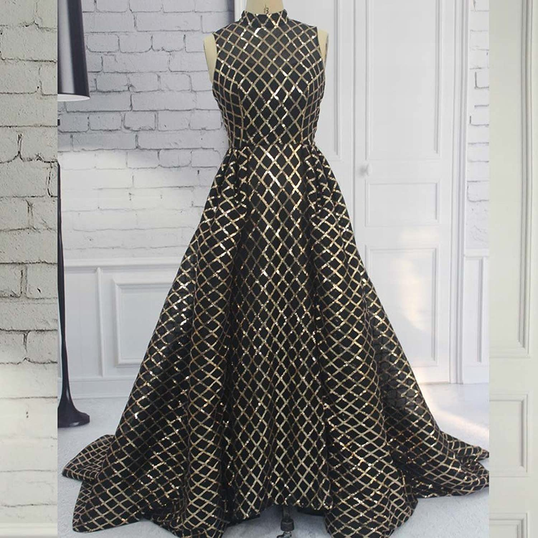 DHG Wedding Dress Long Section Lace Sequins Saudi Style Dress