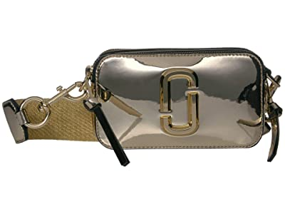 Marc Jacobs Snapshot Mirrored (Gold) Handbags