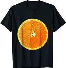Orange slice fruit Halloween costume cute vegan t-shirt