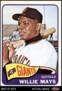 1965 Topps # 250 Willie Mays San Francisco Giants (Baseball Card) Dean's Cards 4 - VG/EX Giants