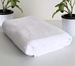 Roseate Ultra Soft 100% Cotton Large Bath Towel Super Absorbent/Anti Bacterial (550 GSM /70x140 cm) Set of 1