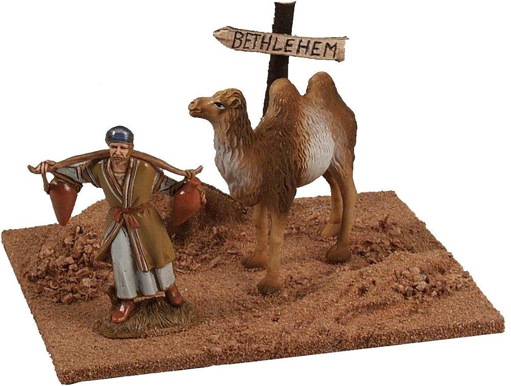 Ferrari & arrighetti,uomo con cammello,personaggi del presepe. 50114