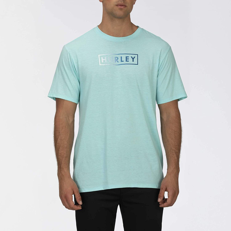Hurley Men's Textured Tri-Blend Boxed Short Sleeve Tshirt