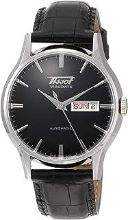 mens Visodate Stainless Steel Dress Watch Black T0194301605101