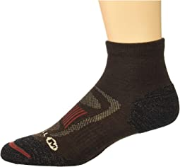 Zoned Quarter Light Hiker Sock