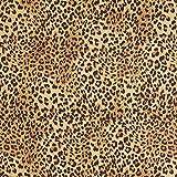 Fabulous Fabrics Jacquard Gobelin Leopard – beige —