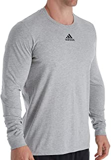 adidas Men's Amplifier Long Sleeve Logo T-Shirt EK02