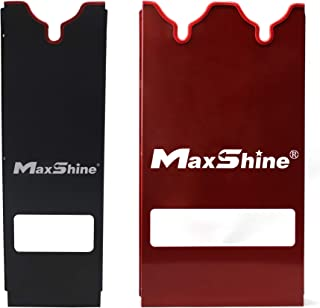 Maxshine Polisher Holder/Rack for Holding The Polisher (Red, Single Station-1pc and Double Station-1pc)