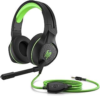 HP 4BX31AA#ABL 400 Pavillion Gaming Headset, Negro/Verde
