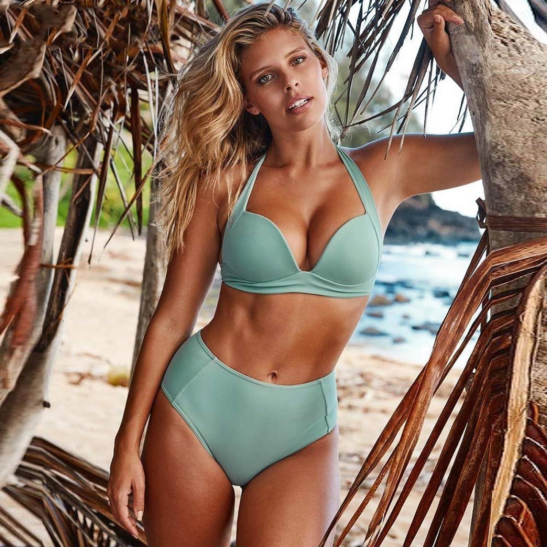TJSZW badeanzüge Bikini-Set mit hoher Größe Bademode Damen-Badeanzug Push Up, XL B07PLCFK6Q  Günstige Bestellung