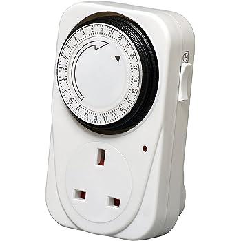 Kingavon Hour Plug-in Timer Socket Set FAST DELIVERY
