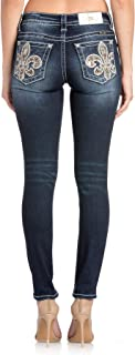 Women's Divine Fleur Ankle Skinny Jeans