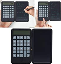 $21 » ROMACK Easy to Carry 6 Inch Calculator LCD Writing Board, Rechargeable Calculator Notepad for Daily and Basic Office