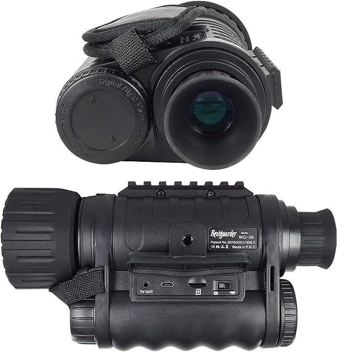 Monoculare ambito 6x50mm infrarossi hd bestguarder digital night vision WG50