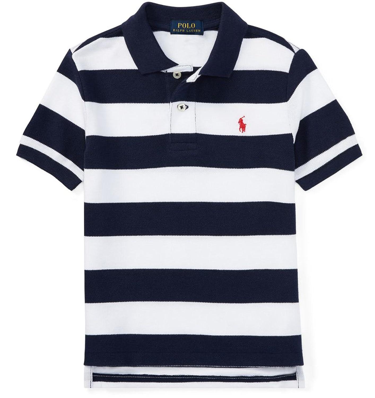 [POLO RALPH LAUREN (ポロラルフローレン)] 半袖コットンメッシュポロシャツ キッズ 男の子 2歳-7歳 [並行輸入品]