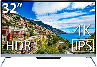 JAPANNEXT JN-IPS322UHDR 4K HDR対応32インチ液晶ディスプレイ アルミ製