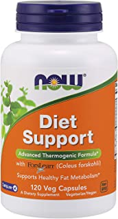 NOW Supplements, Diet Support with ForsLean (Coleus forskohlii), 120 Veg Capsules