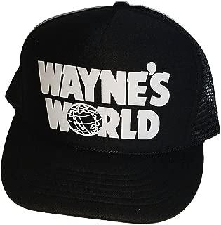Wayne's World Costume Halloween Mesh Trucker Hat Cap Snapback Waynes