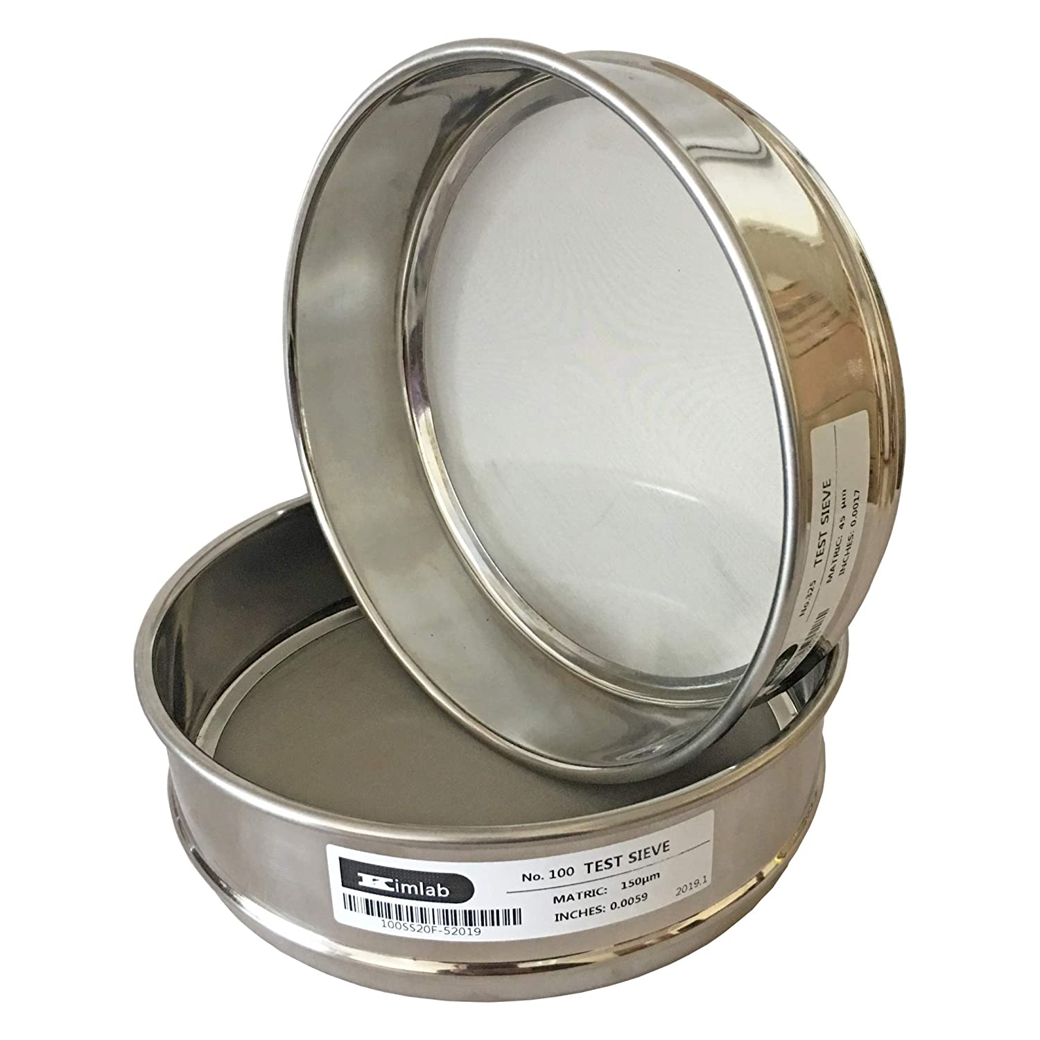 KimLab Free shipping anywhere latest in the nation ISO3310 STD Test Sieve #60 Size Mesh Stain All 250μm