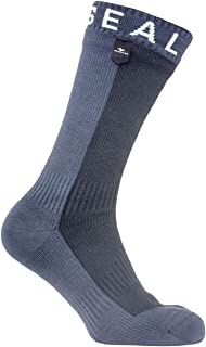 SEALSKINZ 100% Waterproof Sock - Windproof & Breathable - suitable for walking,  camping,  hiking in Cold conditions