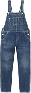 Islander Fashions Mens Womens Pocketed Denim Dungarees Unisex Street Wear Casual Overall