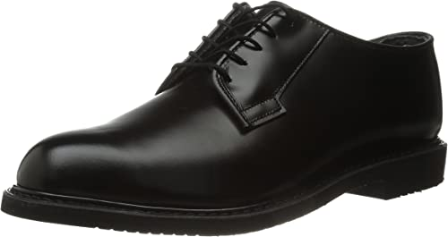Bates Lites Oxford, Leather negro, 7 3E US