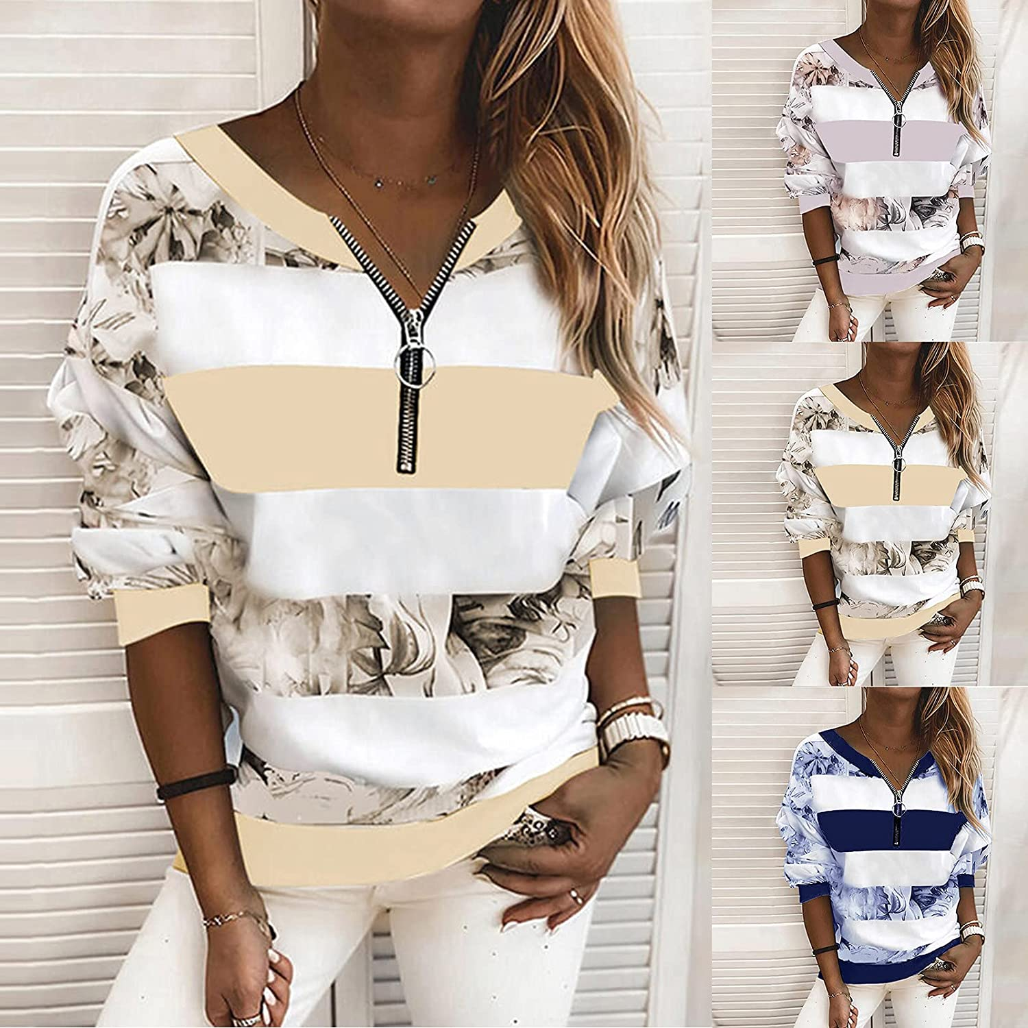 Gerichy Hoodies for Women 2021, Womens Casual Long Graphic Printed Hoodies Fashion Hooded Sweatshirts Pullover Tops