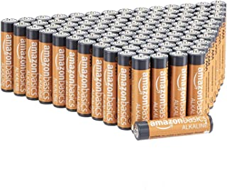 AmazonBasics AAA 1.5 Volt Performance Alkaline Batteries - Pack of 100 (Appearance may vary)
