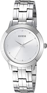 GUESSS Stainless Steel Crystal Bracelet Watch. Color: Silver-Tone (Model: U1209L1)