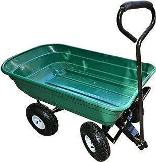Precision LC2000 Capacity Mighty Garden Yard Cart, 600-Pound