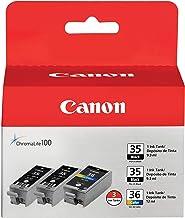 Canon PGI-35/CLI-36 2 Black and 1 Color Value Pack...